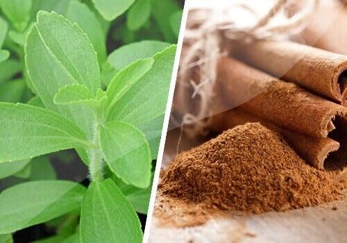 Kanel- och steviakur för att reglera sockernivåerna