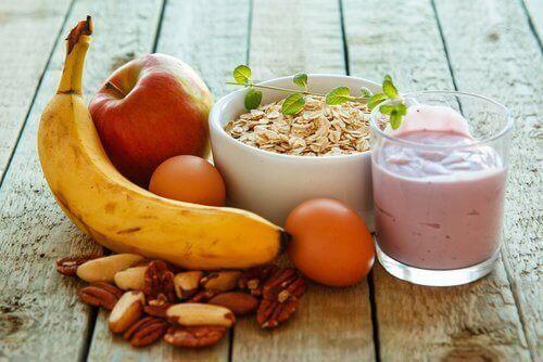 Frukostmat för extra energi hela dagen