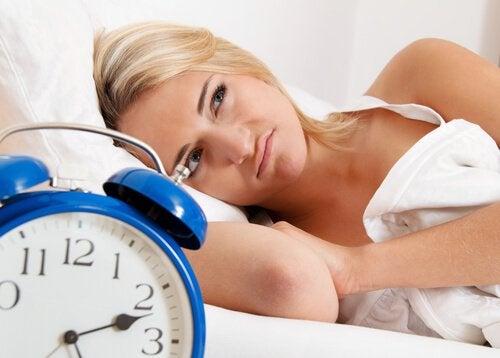 Person som inte kan sova