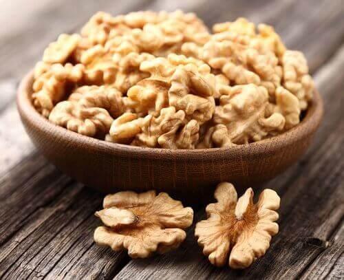 Valnötter är bra för hälsan