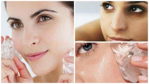 7 fördelar med att använda is på huden