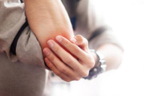 Slemsäcksinflammation armbåge