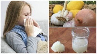 Behandla din hosta, allergi eller influensa med lök