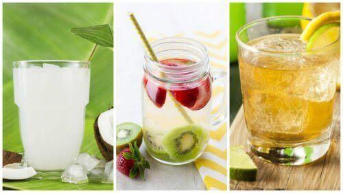 Rena din kropp och gå ner i vikt med 5 renande vatten