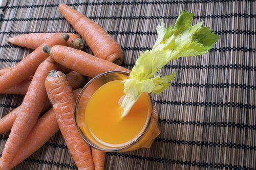 Juice med morötter