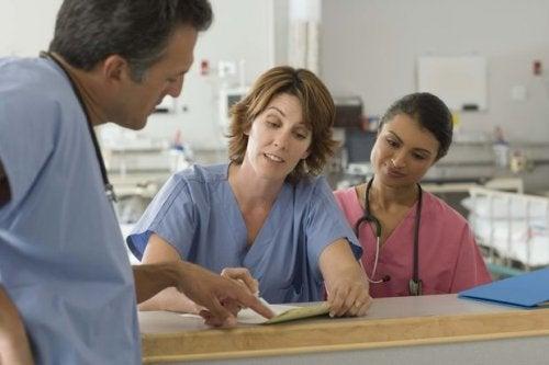 Läkare på sjukhus