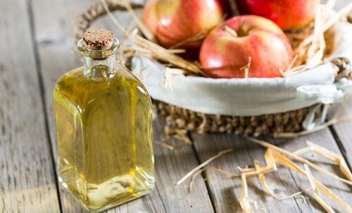 Äppelcidervinäger mot svettlukt