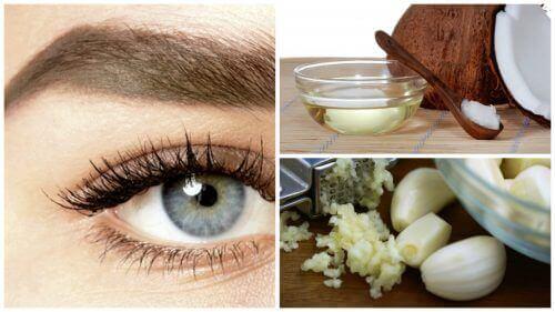 näring för ögonbryn