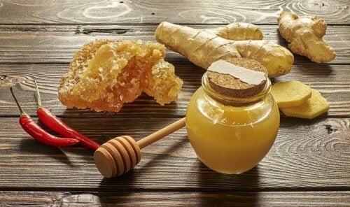 Honung mot slem