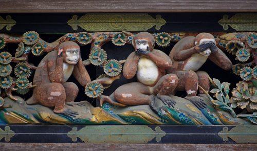 """Den fascinerande lärdomen från """"de tre visa aporna"""""""