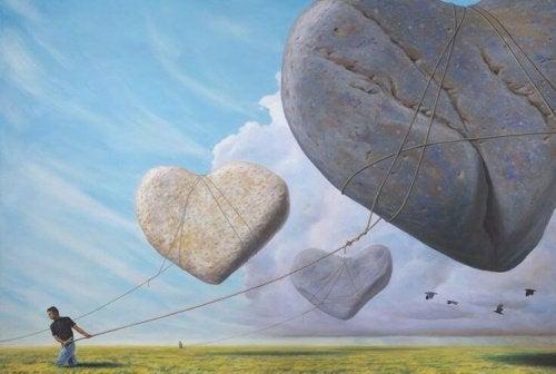 Hjärtformade stenar