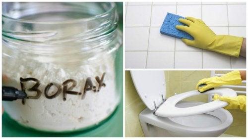 8 sätt att använda borax i hemmet