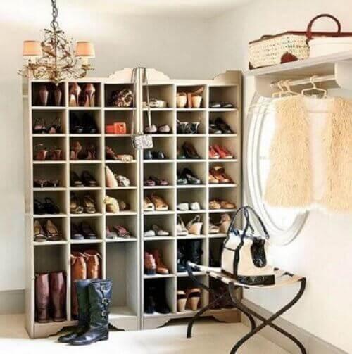 20 kreativa idéer för att organisera skor