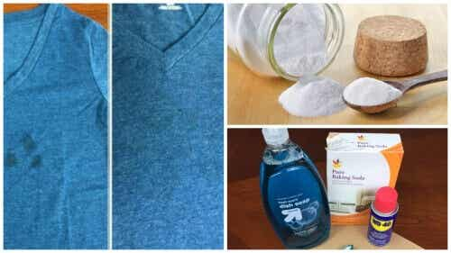 Bör du kasta kläder med fettfläckar? Prova dessa trick