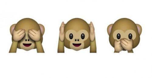 Bildresultat för apor händer för ögon öron mun
