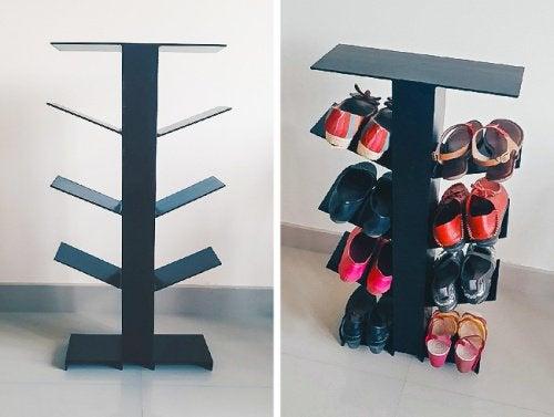 20 kreativa idéer för att organisera skor Steg för Hälsa