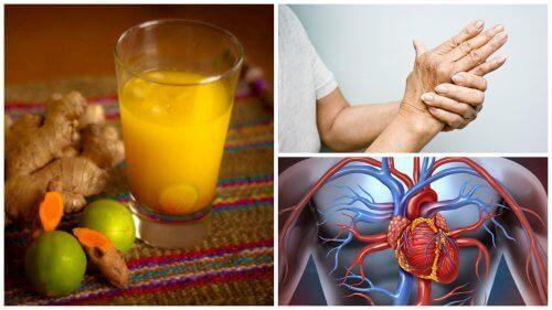 8 stora fördelar med att dricka gurkmejajuice