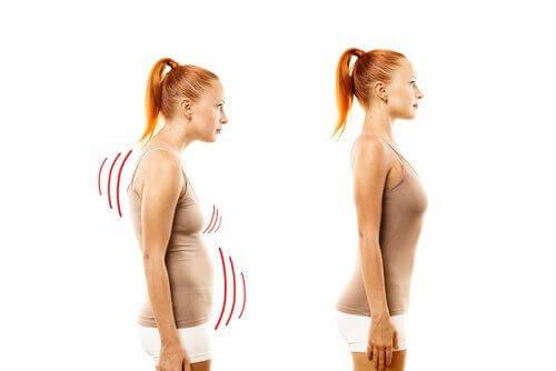 Förbättra din kroppshållning för att få fastare bröst