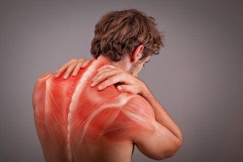Kramp i rygg och nacke