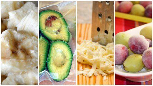 9 överraskande livsmedel du kan frysa