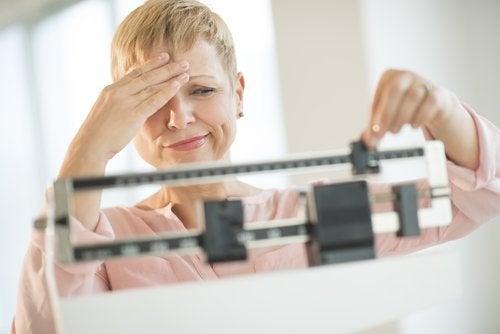 Märkliga förändringar av vikten