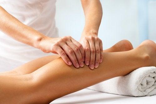 Massage av vad