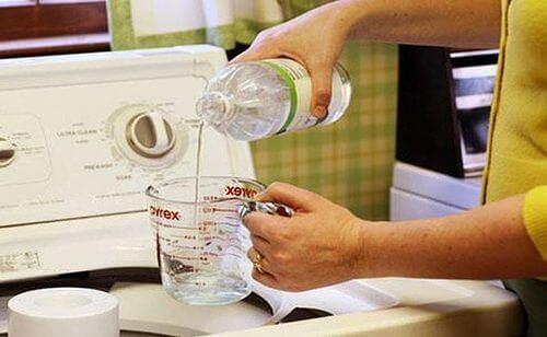 vinäger för illaluktande kläder