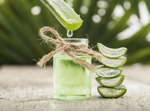 Aloe vera kan motverka ögonpåsar
