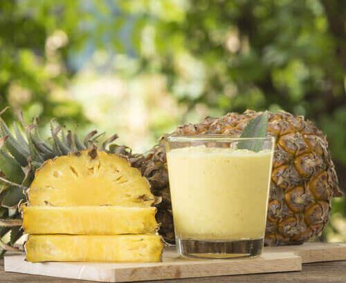 ananas bra för