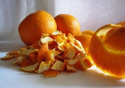 Apelsinskal i kompress