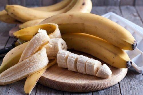 En skivad banan