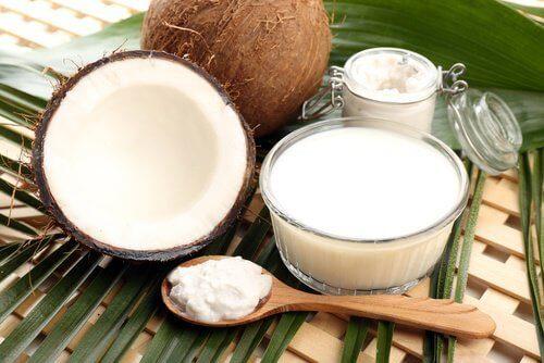 Kokosmjölk mot alopeci