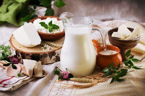 Välj fettsnåla mejeriprodukter