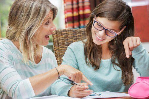 Studerande kvinnor