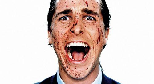Christian Bale i Psycho