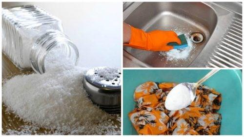7 ekovänliga rengöringstrick med salt