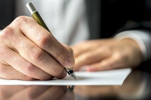 Att skriva för att hjälpa dina sår att läka
