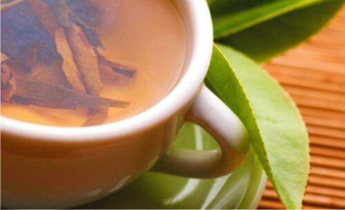 te på vitpil