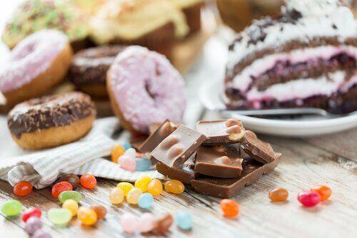 Byt ut godis mot mörk choklad
