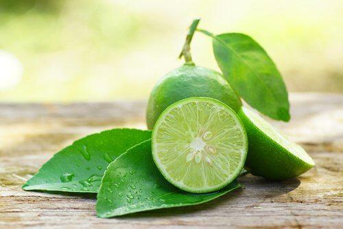 Lime med blad