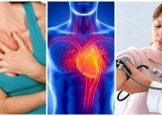 Komplikationer vid högt blodtryck