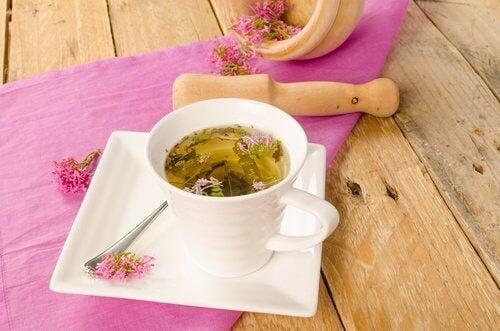 Te på valeriana