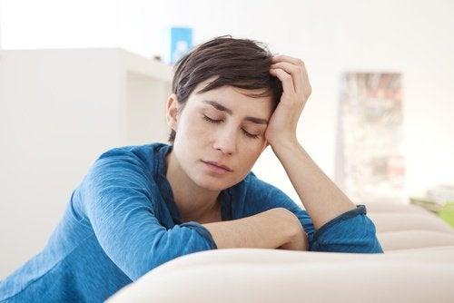 Utmattning kan vara ett symptom på någon sjukdom