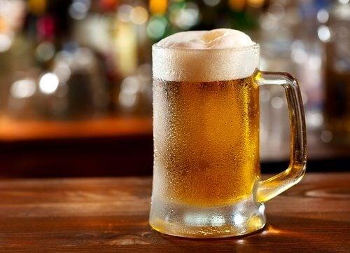 Drick inte öl om du har gikt