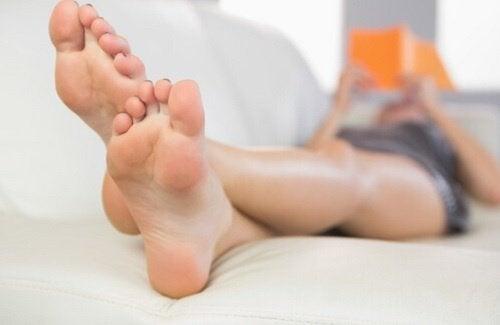 Vilande fötter