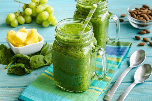 En detoxkur med gröna smoothies