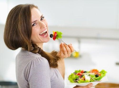 Ät sunt för att undvika vätskeretention