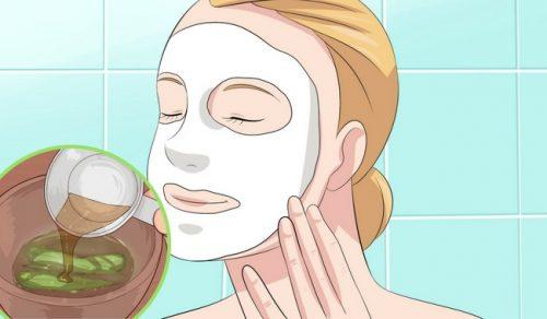 Aloe vera-masker