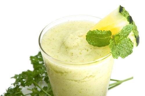 gröna smoothies viktnedgång