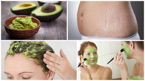 6 kosmetiska användningar för avokado